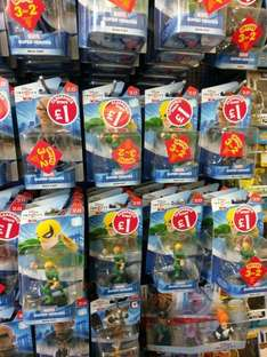 Disney Infinity 2.0 figures - Smyths £1 & 3for2