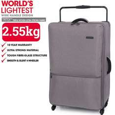 """World's Lightest Suitcase, it luggage Extra Large 83cm/29"""" 4 Wheel Tritex RRP £59.99 Down to £35.99 using code PROMO40 + Free delivery this weekend! @ Bags Etc"""