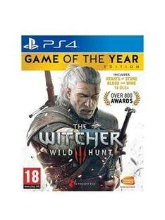 Witcher 3 wild hunt goty (NO NEED FOR CREDIT ACCOUNT) was £49.99 now £24.99 @ very