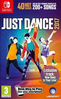 Just Dance 2017 [Switch] £32.50 @ Coolshop