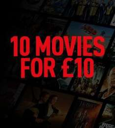 10 Movies For £10.00 (DVD/Blu Ray) @ Shop4World