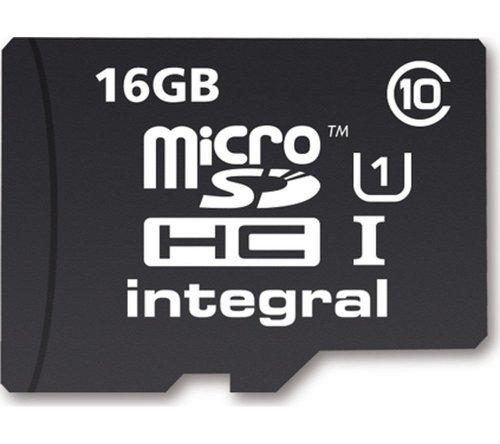16GB micro sd memory card £5.99 Currys
