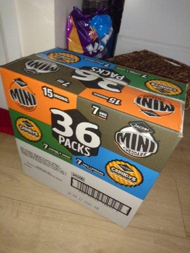 36 mini cheddars £4 @ the Range