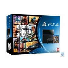 ps4 with gta 5 £199.99 @ Hughes