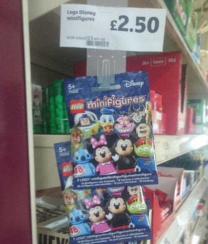 Lego Disney Minifigures £2.50 @ Sainsbury's Hertford
