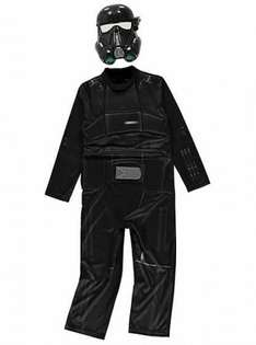 star wars death trooper fancy dress costume was £8 Now £5 @ Asda George