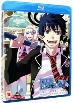 Blue Exorcist: Definitive Edition Part 1 & Part 2 Blu-ray Boxsets only £10.09 each delivered @ Base [AO No Exorcist]