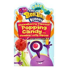 The bon bon buddies strawberry flavour popping candy 10p at home bargains