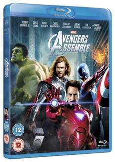 Marvel Avengers Assemble (Blu-ray) (New) £2.99 @ Music Magpie