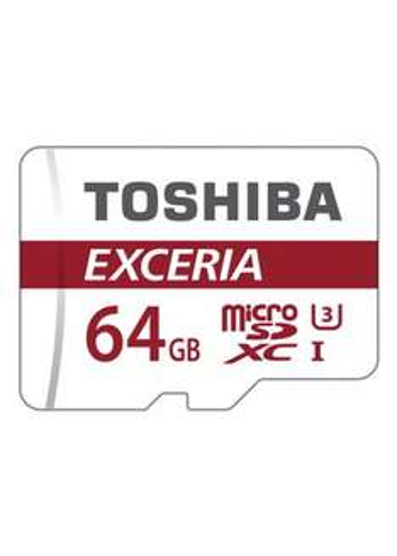 Toshiba 64 GB EXCERIA M302 Micro SDXC Card U3 with Adapter £16.99 @ base