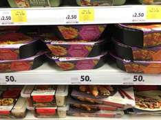 Indian Kitchen Ready Meals (50p) @ Tesco instore