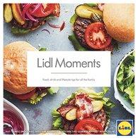 lidl £5 off £30 spend in  lidl moments brochure