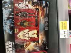 Star wars rogue one figure set in tesco sunderland - £10