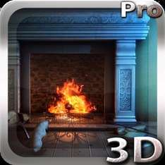 Fireplace 3D Pro lwp (was 77p) now FREE @ Google Play Store