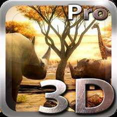Africa 3D Pro Live Wallpaper (was 77p) now FREE @ Google Play Store