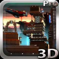 Space Cityscape 3D LWP (was £1.02) now FREE @ Google Play Store