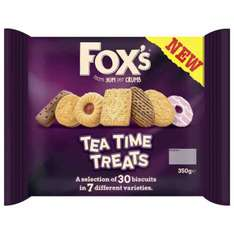 Fox's Tea Time Biscuits 350G 50p @ Poundstretcher