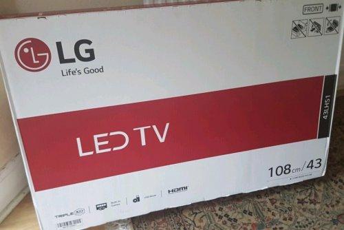 "43"" LG TV LED £167 @ Asda instore - Edmonton, North London"