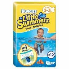 Huggies Little Swimmers Size 2-3 3-8Kg 12 Pants half price was £5.25 now £2.62 @ Tesco online