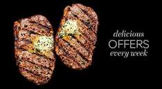 M&S Grill Meal Deal with Wine - £10