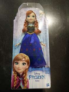 Disney Frozen Anna Doll Listed £12.95 scans £3.08  Instore @ Tesco Bar Hill