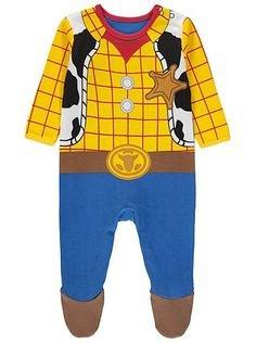 Disney Woody 100% Cotton Sleepsuit First Size - 18mths now £4 C+C @ Asda George (also Buzz)
