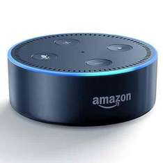 Amazon Echo Dot Smart Device with Alexa Voice Recognition & Control Black & White with  2 years guarantee £44.95 @ John Lewis also & Currys & Argos £44.99 with Free C&C