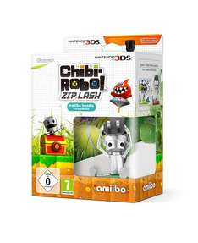 Chibi-Robo! Zip Lash amiibo and 3DS Game Bundle £11.99 Argos on eBay