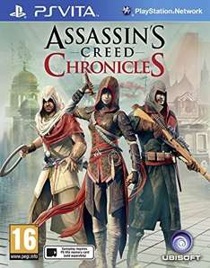 Assassin's Creed Chronicles Trilogy £9.99 Sony PS Vita New! @ game.co.uk