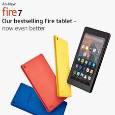 All-New Fire 7 Tablet with Alexa from £49.99 @ Amazon