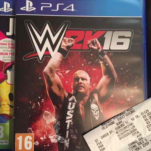 WWE 2K16 with terminator DLC £6 instore @ Asda