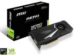 MSI GTX 1080 (Blower style) - £442.98 @ Novetech (£400 after cashback)