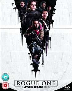 Rogue One: A Star Wars Story (Blu-ray) £12.50 (Prime) / £14.49 (non Prime) at Amazon