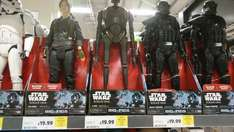 """20"""" Star Wars Rogue One Figures - 2 for £20.00 - Tesco Store Rotherham"""