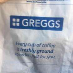 complimentary cookie with breakfast deal £2.70 at Greggs