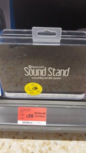 Juice Sound Stand Bluetooth Active Speaker - Black @sainsburys alder Hill poole.. was £45..now £20
