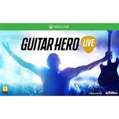 Guitar Hero LIVE Preowned Xbox One £9.99 @ Game