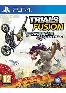 Trials Fusion The Awesome Max Edition (PS4) £12.99 delivered @ base