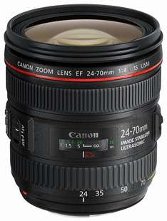 Canon EF 24-70 mm f/4 L IS USM Lens (£165 cashback) £634 @ Amazon