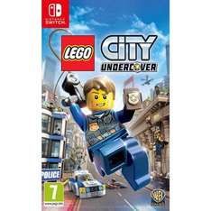Lego City Undercover (Nintendo Switch) £33.95 @ The game collection