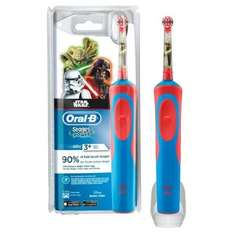 Kids Oral B electric toothbrush Star wars, Cars and Frozen & triple points £13.99 Superdrug