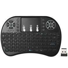 Backlit 2.4GHz Wireless Backlight Keyboard Air Mouse Touchpad Handheld Remote Control £5.73 Delivered @ Tomtop