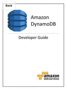 Amazon DynamoDB Developer Guide Free @Kindle Amazon