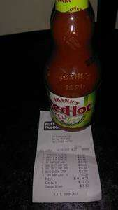 Frank's Red Hot Sauce - Chili & Lime (354ml) 69p at Fulton's Foods