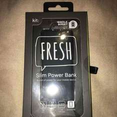 mobile phone power bank reduced to £4 instore @ Asda