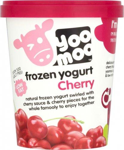 YooMoo Cherry / Strawberry / Vanilla Yogurt  Frozen (500ml) Save 1/3, was £2.50 now £1.66 @ Ocado