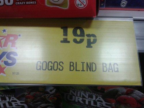 Gogos Crazy Bones Blind Bags 19p @ Home Bargains