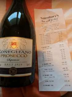 Prosecco for £6 a bottle @ Sainsbury's