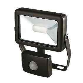 10W Slimline LED Floodlight with PIR £9.99 @ Screwfix C&C