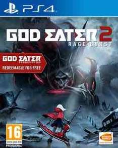 God eater 2 rage burst (PS4) £14.99 @ GAME